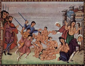The Massacre of the Innocents in Matthew 2:13-18.