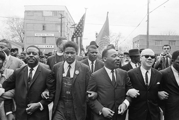 MLK Montgomery March 1965 (Photography by Associated Press)