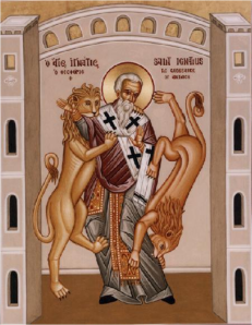 Ignatius of Antioch was martyred in the Colosseum