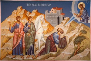 Icon of Paul's 'Damascus Road' conversion.
