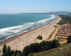 Stinson Beach, CA, where I spent many summer days