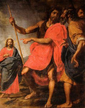Ottavio Vannini, San Giovanni che indica il Cristo a Sant'Andrea (Source: Wikipedia)
