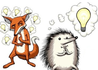 The Fox and the Hedgehog (Source: whites.me.uk)