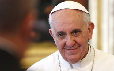 Pope Francis (Photo: AFP; Source: telegraph.co.uk)
