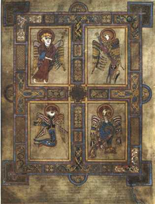 Icon of the Fourfold Gospel