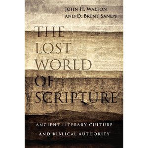 Walton and Sandy, THE LOST WORLD OF SCRIPTURE