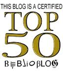 This blog may not be Top 50 next time the list is made...is the list still being made?